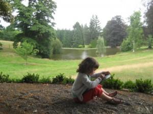 Une artiste en herbe
